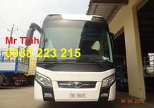 Bán xe Thaco Universe đời 2018, màu trắng, nhập khẩu chính hãng