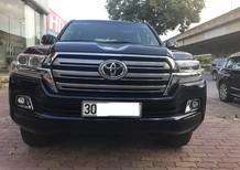 Bán Toyota Land Cruiser VX 2016, màu đen, xe nhập biển đẹp Hà Nội, tên cty hóa đơn trên 3 tỷ