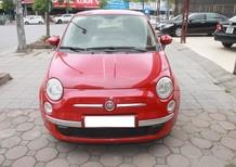 Fiat 500 màu đỏ, số tự động, máy xăng sản xuất 2009 đăng ký 2011