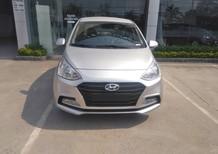 Bán xe Hyundai Grand i10 1.2L MT 2018 mới, màu bạc, giá bán thương lượng