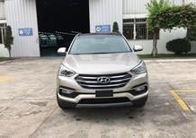 Bán ô tô Hyundai SantaFe 2.2L đời 2018, màu vàng, giá bán cạnh tranh