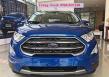 Cần bán Ford EcoSport Titanium 2018 2018, màu xanh lam, bán ecosport trả góp tại vĩnh phúc
