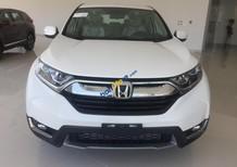 Bán Honda CR V E sản xuất năm 2018, màu trắng, xe nhập, hỗ trợ ngân hàng lên đến 90%