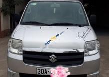 Bán xe Suzuki APV sản xuất 2009, màu bạc số sàn