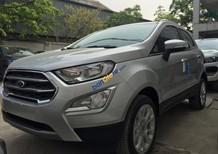 Bán xe Ford EcoSport Titanium 1.5L sản xuất năm 2018, màu bạc giá cạnh tranh, hỗ trợ trả góp