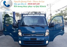Xe tải 2018, Kia K200 tải trọng 1tấn 9, sử dụng động cơ Hyundai, bán xe trả góp