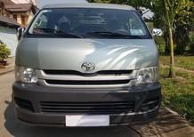 Cần bán gấp Toyota Hiace 2008 màu xanh, máy xăng, giá chỉ 295 triệu