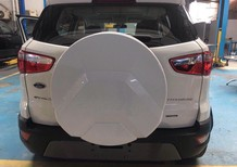 Bán xe Ford EcoSport Titanium 2018, màu trắng, giá 648tr, LH: 0918889278