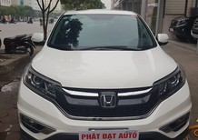 Cần bán Honda CR V 2.4 AT TG 2016, màu trắng siêu mới