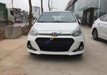 Bán xe Hyundai Grand i10 1.2L AT 2017, màu trắng, giá tốt xe giao ngay