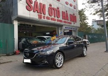 Bán Mazda 6 2.5 AT năm sản xuất 2015, màu đen