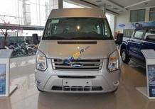 Bán ô tô Ford Transit Standard MID đời 2018, màu bạc