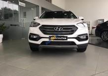 Cần bán Hyundai Santa Fe 2.4L bản đặc biệt 2018, màu trắng, giá tốt xe giao ngay