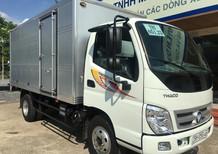Liên hệ 0969.644.128/0938.907.243 - Bán xe Thaco Ollin Ollin 500B 2017, màu trắng thùng kín