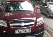 Bán xe Chevrolet Captiva đời 2008, màu đỏ, giá tốt