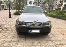 Cần bán xe BMW X3 2.5AT  màu xám (ghi), xe nhập