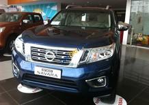 Bán tải Nissan Navara bản VL cao cấp, màu xanh lam, vay tối đa 90%, LH 09715672220