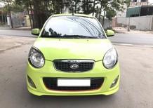 Cần bán Kia Morning SX 1.1 MT Sport 2012, màu xanh cốm