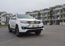 Bán xe Toyota Fortuner TRD Sportivo AT đời 2014, màu trắng