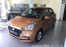 Bán xe Hyundai Grand i10 1.2AT - sedan - màu cam - giá tốt