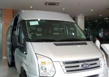 Bán ô tô Ford Transit đời 2018, màu bạc