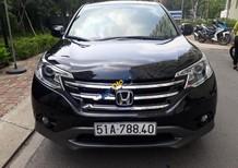 Bán xe Honda CR V 2.0AT năm 2014, màu đen như mới, giá chỉ 735 triệu