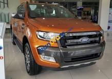 Bán ô tô Ford Ranger Wildtrak 2.2 năm 2017, màu cam