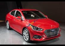 Bán Hyundai Accent 1.4MT 2018, màu đỏ, bản đủ, mới 100%, góp đến 85% xe, ĐT: 0941462277