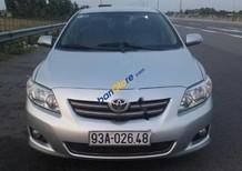 Cần bán xe Toyota Corolla altis G đời 2009, màu bạc