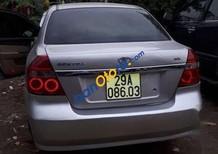Bán Daewoo Gentra MT đời 2010, màu bạc