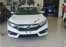 Bán Honda Civic 1.8E 2018, màu trắng, nhập khẩu nguyên chiếc từ Thái, mới chính hãng, giao xe sớm, 0933 87 28 28