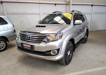 Bán xe Toyota Fortuner 2016, máy dầu số sàn, màu bạc, giá thương lượng, có hỗ trợ trả góp