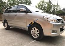 Cần bán xe Toyota Innova 2.0 G đời 2011, màu bạc