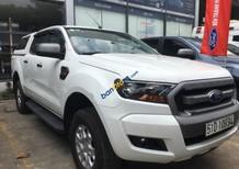 Cần bán gấp Ford Ranger năm sản xuất 2017, màu trắng, nhập khẩu nguyên chiếc số sàn