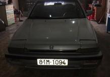 Cần bán lại xe Honda Accord LX 1987, màu bạc , xe nhập