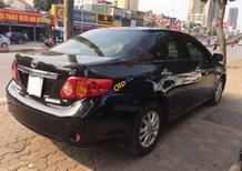 Cần bán gấp Toyota Corolla altis đời 2009, màu đen, nhập khẩu