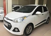 Bán xe Hyundai Grand i10 1.2AT năm sản xuất 2015, màu trắng, xe nhập như mới, giá 395tr