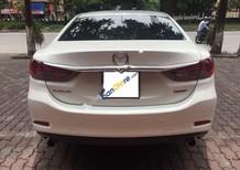 Cần bán lại xe Mazda 6 2.0AT đời 2016, màu trắng đẹp như mới