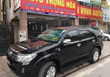 Bán ô tô Toyota Fortuner đời 2011, màu đen