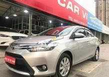 Cần bán gấp Toyota Vios E 1.5 MT đời 2014, màu bạc