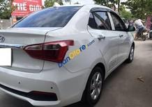 Cần bán Hyundai Grand i10 sản xuất năm 2017, màu trắng, hỗ trợ 75% giá trị xe