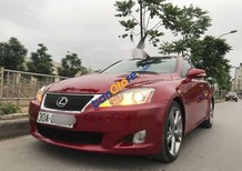 Cần bán gấp Lexus IS 250 sản xuất năm 2009, màu đỏ, nhập khẩu nguyên chiếc còn mới, 899 triệu