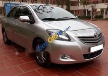 Cần bán lại xe Toyota Vios E sản xuất năm 2013, màu bạc chính chủ, 378tr