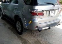Cần bán lại xe Toyota Fortuner sản xuất 2010, màu bạc, 615tr