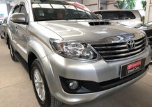 Bán Toyota Fortuner 2.5G 2014, màu bạc