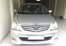 Cần bán Toyota Innova G 2009, màu bạc