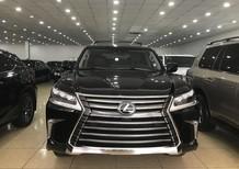 Cần bán xe Lexus LX 570 đời 2018, màu đen, nhập khẩu chính hãng