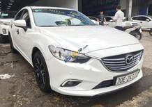 Cần bán lại xe Mazda 6 2.0AT năm 2016, màu trắng
