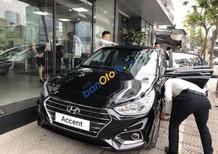 Cần bán xe Hyundai Accent sản xuất năm 2018, màu đen, 499tr