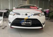 Bán xe Toyota Vios sản xuất năm 2018, màu trắng
